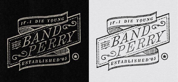 Band logo: Band Logos, Branding Inspiration, Logos Art, Logos Inspiration, Band Perry, Branding Design Portfolio, Pavlov Visual, Perry Logos, Banners Flourish