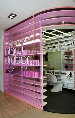 blowout bar | Hershesons Blow Dry Bar, London - Haare to go - fem.com