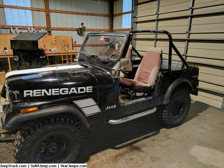 Jeeps For Sale and Jeep Parts For Sale - CJ7 Jeep 304 AMC