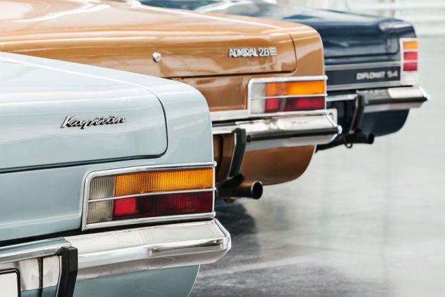 Die großen Drei von Opel auf der Techno Classica: Sonderausstellung in Essen: 50 Jahre Kapitän, Admiral und Diplomat - Klassik