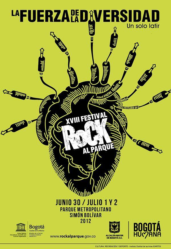 Rock al Parque 2012.