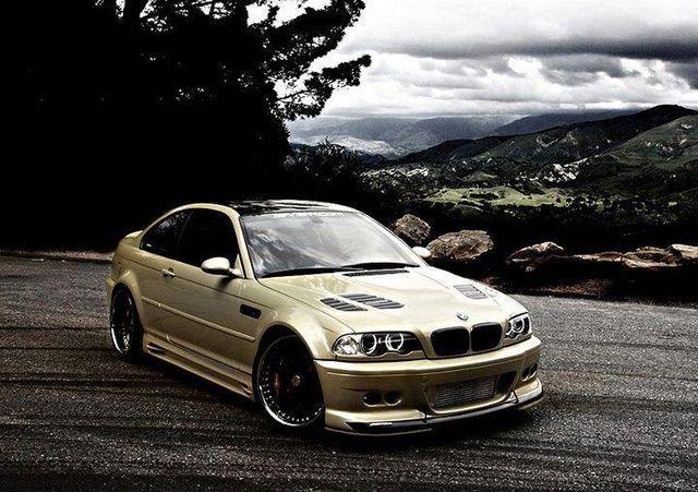 BMW E46 M3 #BMW #GreaseGarage #E46 #M3 #EDM