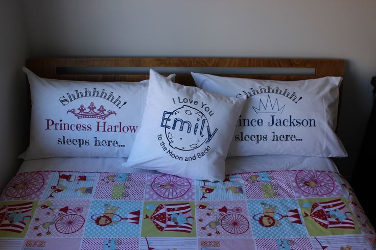 Custom printed pillowcase