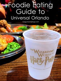These all look so good. THings to remember to try on vacation at universal studios and the wizarding world of harry potter