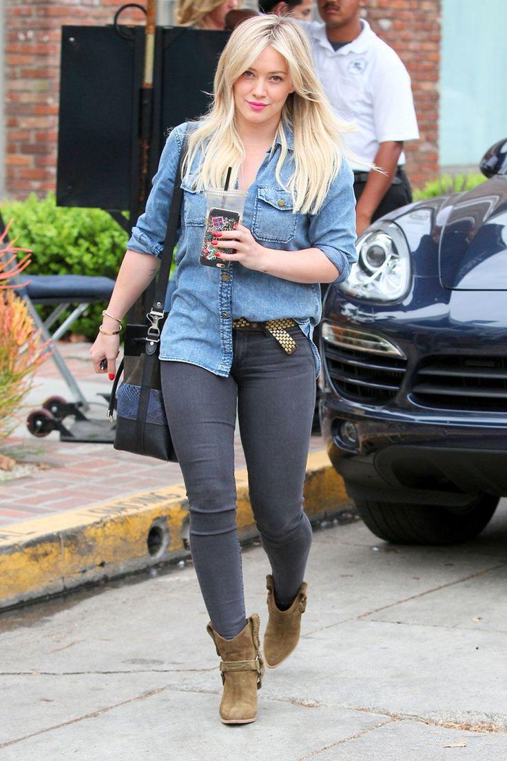 Hilary Duffin Los Angeles onJan. 29, 2015.  -Cosmopolitan.com