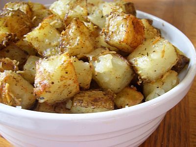 Easy To Be Gluten Free | Roasted Parmesan Potatoes