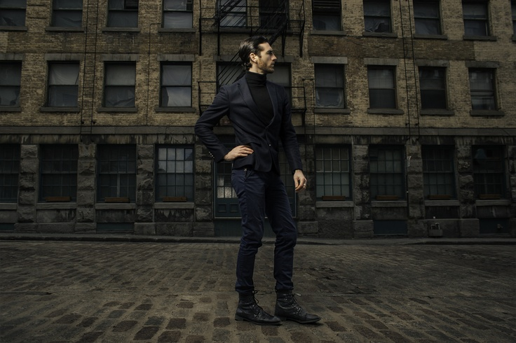 Ted Puglia at the Old Montréal, Next Models, Photo: César Ochoa