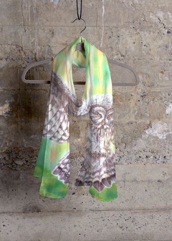 Modal Scarf - Waterlily Matisse Woman M by VIDA VIDA