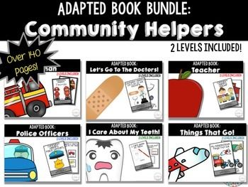 ... Police Officer Adapted Book Community Helpers: Teacher Adapted Book