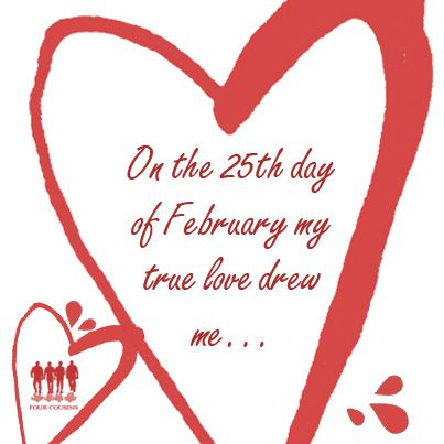 On the 25st day of February... #monthoflove #fclove