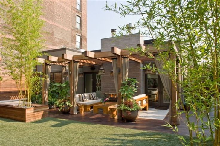 SYNLawn in a Roof Top Garden in New York City