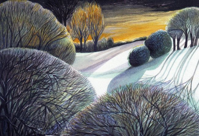 """Frosty Morning"" by Annie Soudain"