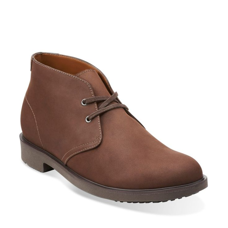 Riston Style Brown Leather - Mens Waterproof Boots - Clarks® Shoes