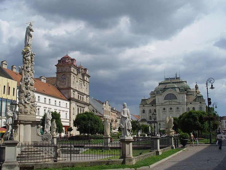 Kosice (Slovakia) - My nana and pop pop lived here before moving to America after WWII
