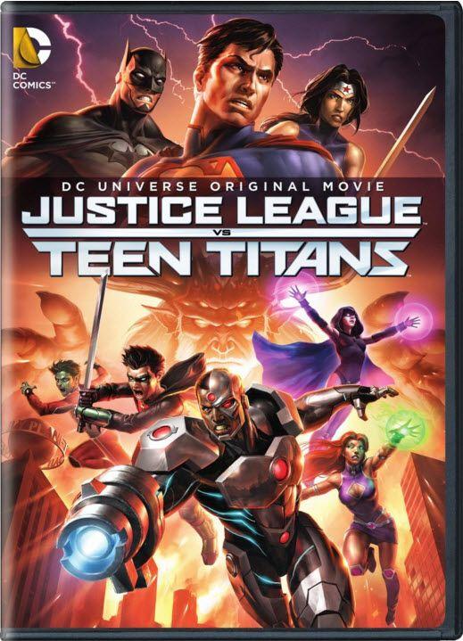 DC Comics Justice League Vs. Teen Titans
