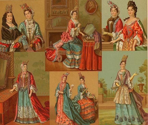 the history of france since the 17th century Costume examples focusing on france, england, germany and italy in the 16th century clothing of the aristocracy, the military, citizens and peasants.
