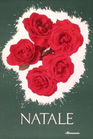 By Lora Lamm (born 1928), ca 1960, Natale (Christmas), la Rinascente. (I)