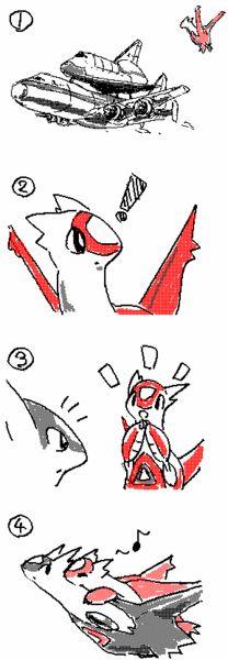 Latias Wants a Ride Too #Pokemon