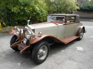 1933 Rolls-Royce Phantom II Maintenance of old vehicles: the material for new cogs/casters/gears could be cast polyamide which I (Cast polyamide) can produce