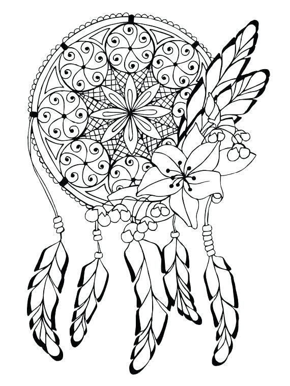 Complex Coloring Pages For Teens And Adults Best Coloring Pages For Kids Coloring Pages For Teenagers Dream Catcher Coloring Pages Shape Coloring Pages