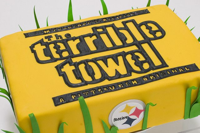 terrible towel groom cake