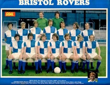 Bristol Rovers team group in 1973.