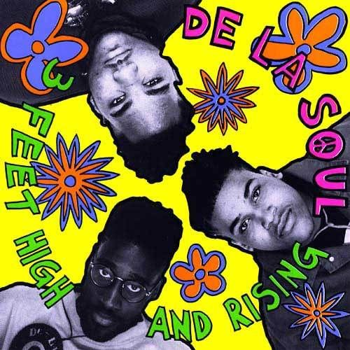 De La Soul - 3 Feet High and Rising.  A landmark hip hop album.
