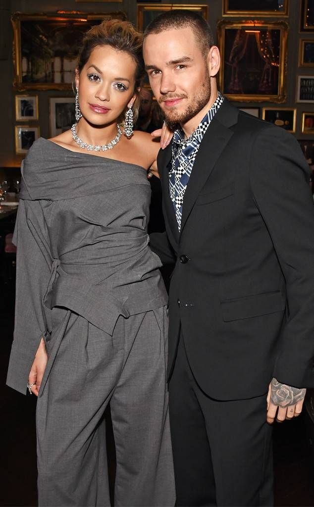 """Rita Ora & Liam Payne from The Big Picture: Today's Hot Photos Dreamy duo! The """"For You"""" collaborators are spotted at a GQ event for London Fashion Week Men's."""