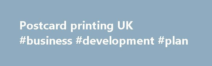 Postcard printing UK #business #development #plan http://bank.nef2.com/postcard-printing-uk-business-development-plan/  #business postcards # Only one promotion code can be used per order. Savings will be reflected in your basket. Discounts cannot be applied to shipping, taxes, design services, previous purchases or products on the Vistaprint Promotional Products site, unless otherwise specified. Discount prices on digital products are valid for initial billing cycle only. Additional charges…