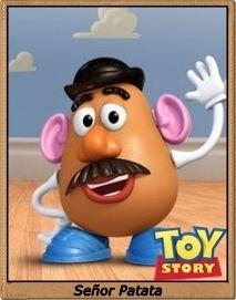 Señor Patata / Mr. Potato Head / Toy Story / Toy Story 2 / Toy Story 3 / Pixar / John Lasseter