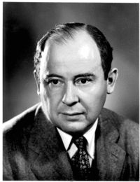 John von Neumann, mathematician, physicist and early computer pioneer.