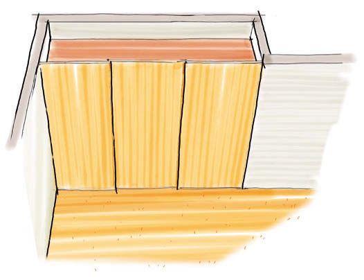 Vintage Mit deckenhohen Schiebet ren nicht nur Wandschr nke bauen sondern ganz neue R ume schaffen Wir erkl ren Installation und Gestaltung