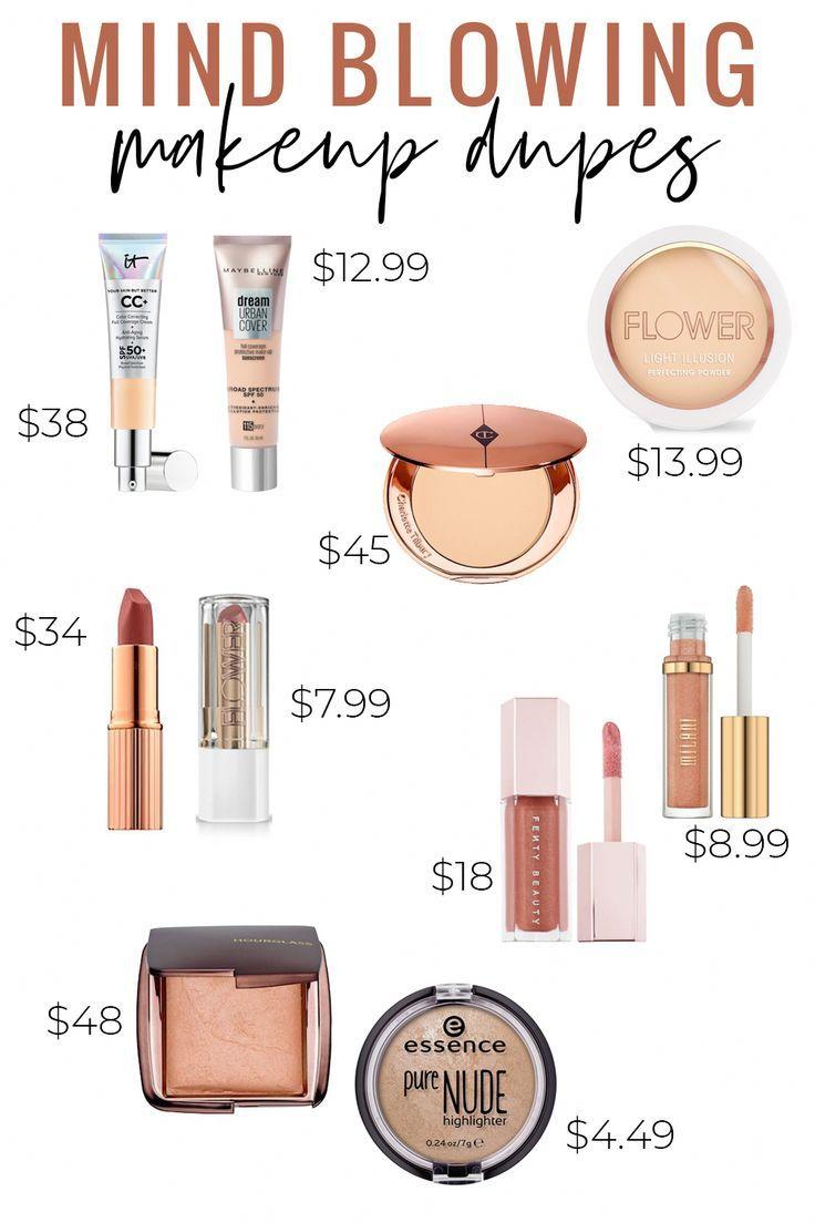 Makeup Dupes In 2020 It Cosmetics Cc Cream Makeup Dupes Drugstore Makeup Dupes