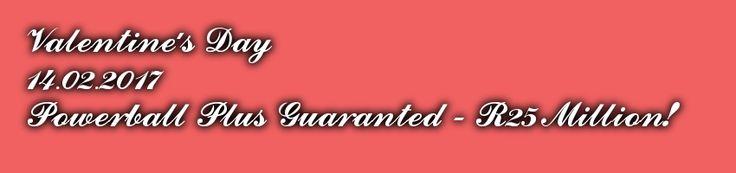 powerball plus guaranteed jackpot 14.02.2017
