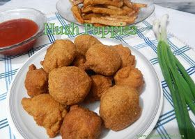 Naz's Kitchen Fiesta: How To Make Resturant Style Hush Pupies