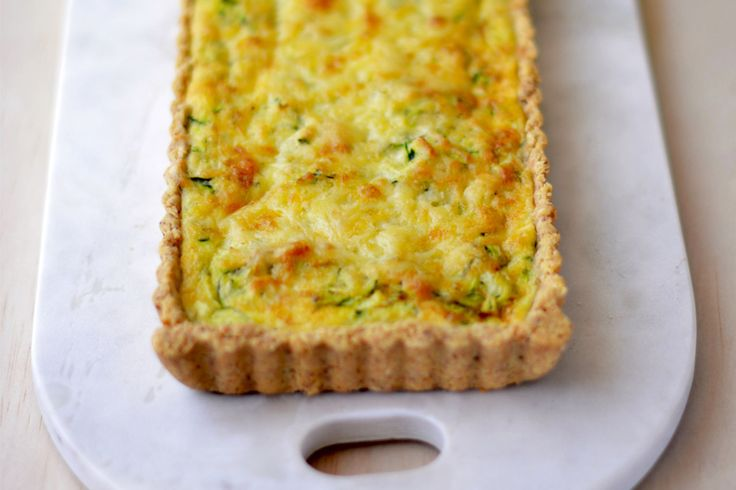 Zucchini Quiche with Brown Rice and Almond Pastry - Maggie Beer