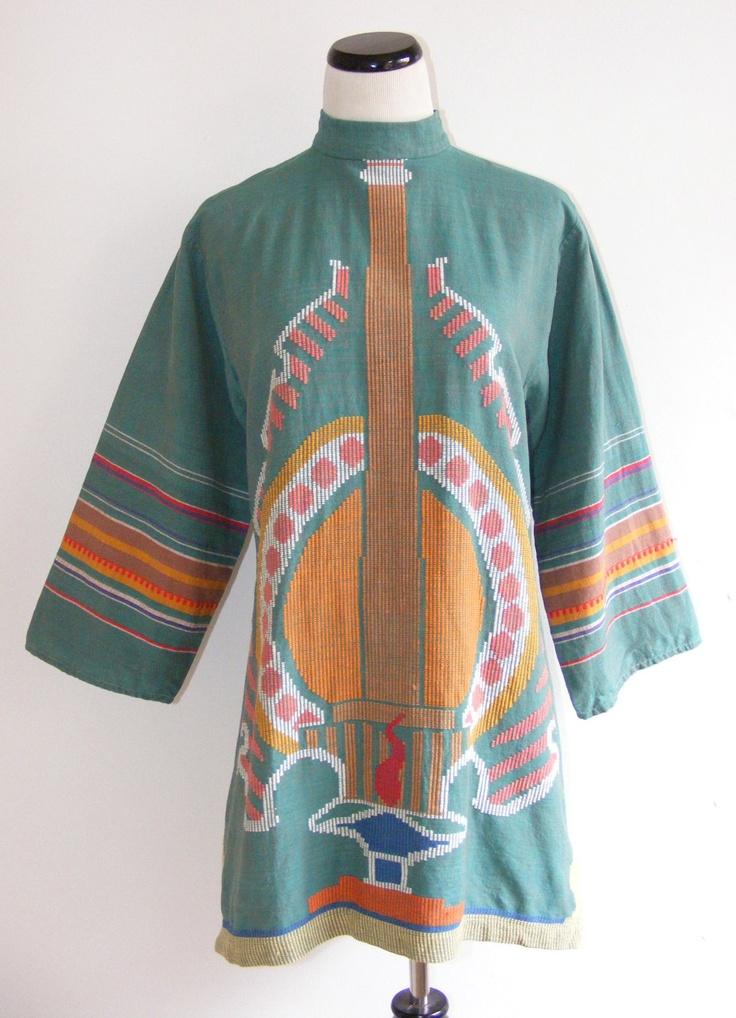 // 1960's cotton dress