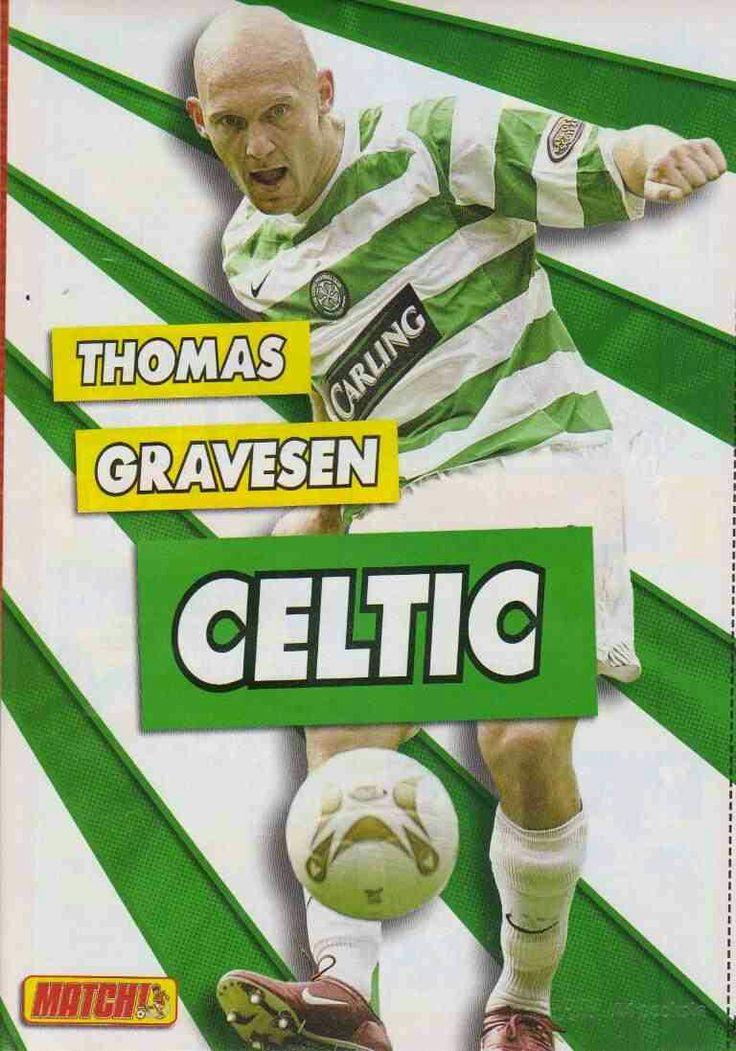 Thomas Gravesen of Celtic & Denmark in 2007.