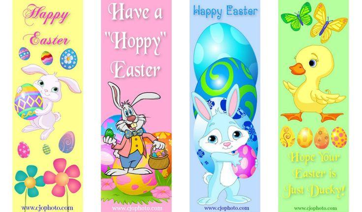 Printable Bookmarks Easter Free Printable Bookmarks