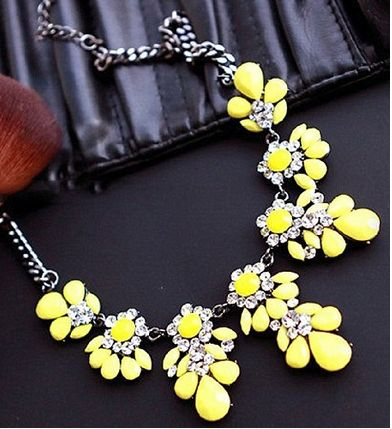Five for Friday: Wallet-Friendly Yellow Statement Necklaces