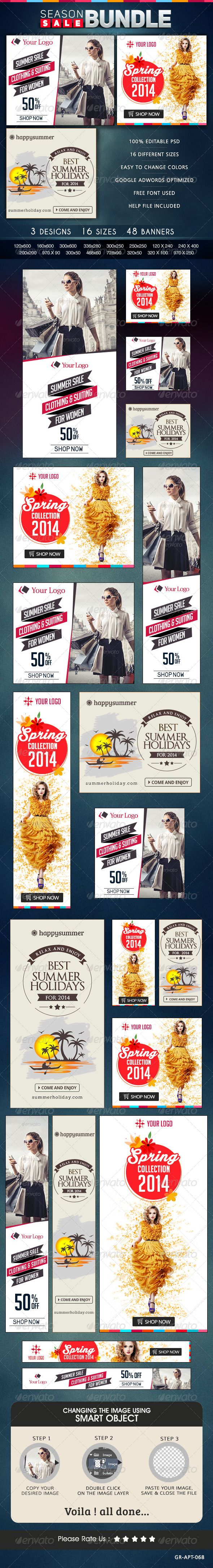 Season Sale Banner Bundle Template PSD | Buy and Download: http://graphicriver.net/item/season-sale-banner-bundle-3-sets/8567326?WT.ac=category_thumb&WT.z_author=doto&ref=ksioks
