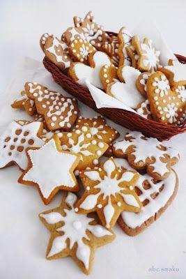 Świąteczne ciasteczka http://abcsmaku.blogspot.com/2013/12/swiateczne-ciasteczka.html