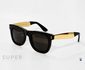 Super by Retrosuperfuture Ciccio Francis Black iceblink official dealer of Super Sunglasses buy on line at www.iceblink.it Express Free Shipping