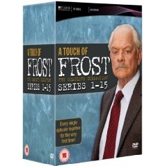 A Touch of Frost--I adore Frost (David Jason), one of my favorites!