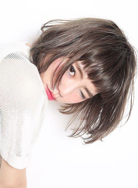 ファストブリーチ + ホワイトグレージュ|髪型・ヘアスタイル・ヘアカタログ|ビューティーナビ