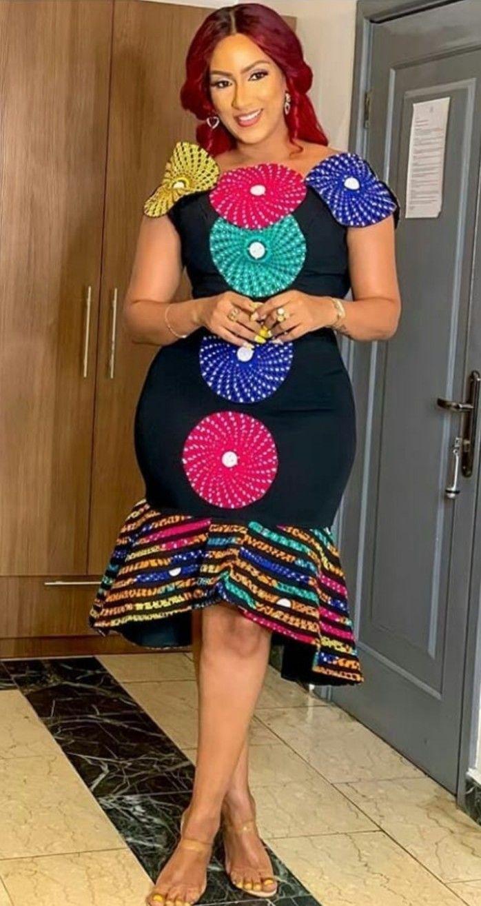 Pin By Merry Loum On Wax Wax Wax Latest African Fashion Dresses African Print Fashion Dresses African Dress