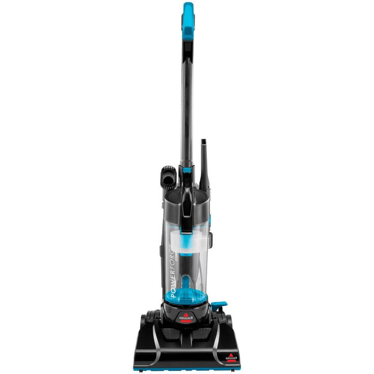 Bissell Vacuum Cleaner PowerForce Compact Bagless Upright Vac Blue #Bissell