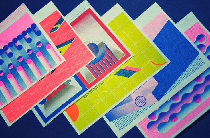 2015 RISOGRAPH PRINTING CALENDAR on Behance