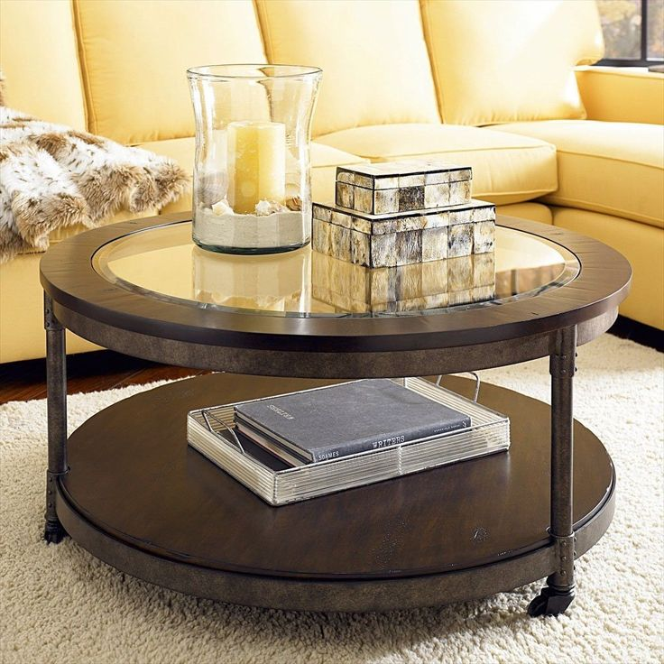 1000+ Ideas About Round Glass Coffee Table On Pinterest   Coffee
