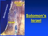 Israel under King Solomon